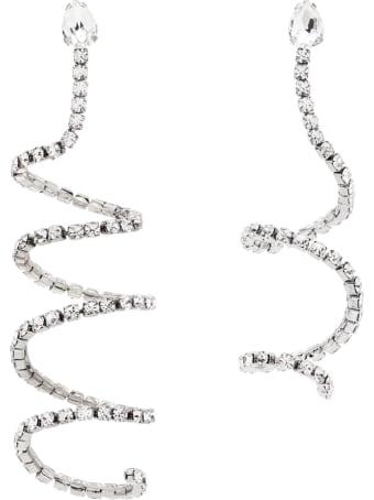 AREA Silver Spiral Earrings