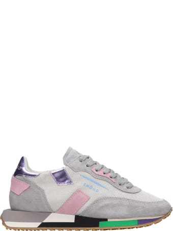 GHOUD Rush Sneakers In Grey Tech/synthetic