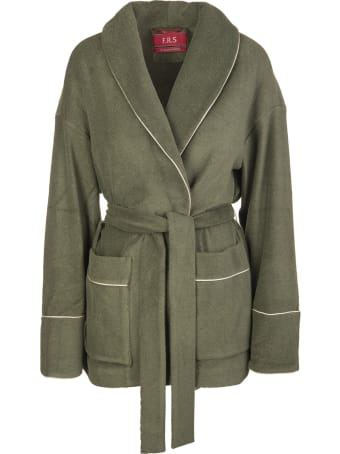 For Restless Sleepers Green Agnizione Jacket
