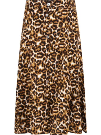 Caffe' d'Orzo Multicolor ''katia'' Skirt For Girl