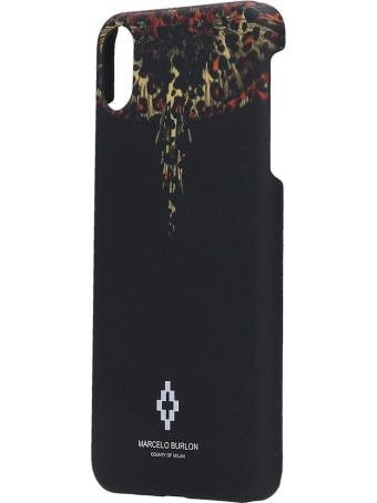 Marcelo Burlon Iphone / Ipad Case In Black Pvc