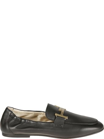 Tod's Double T Engraved Logo Loafers