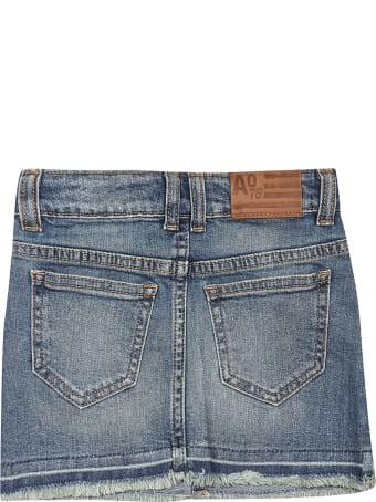 AO76 Denim Shorts