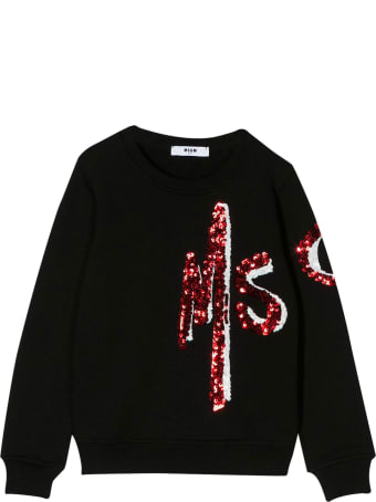 MSGM Kids Printed Logo Sweatshirt