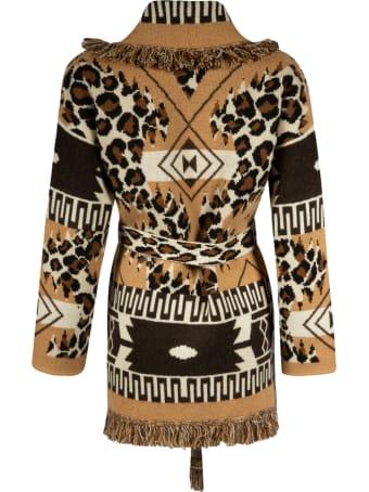 Alanui Leopard Icon Cardigan