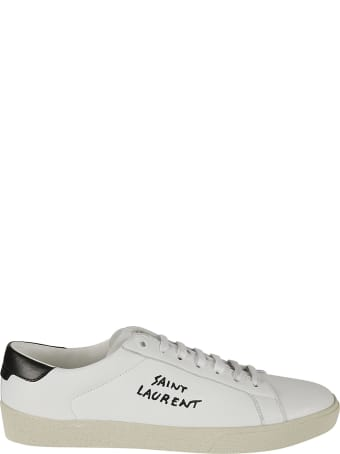 Saint Laurent Side Logo Sneakers