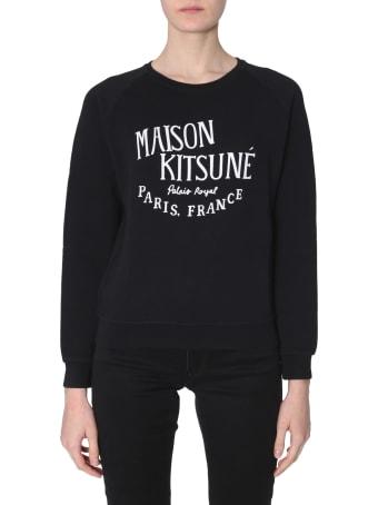 Maison Kitsuné Palais Royal-print Sweatshirt