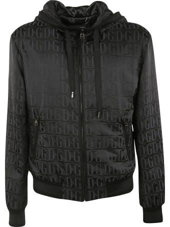 Dolce & Gabbana Zip-up Hooded Jacket