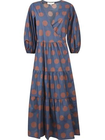 Sea Penny Tiered Wrap Dress