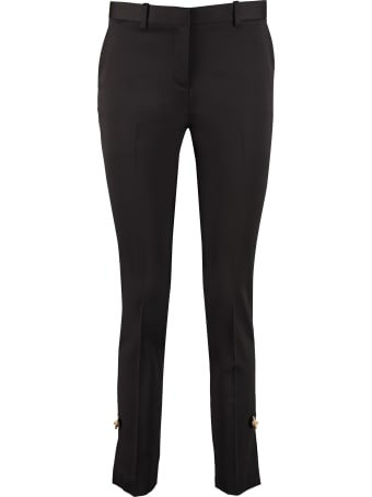 Versace Decorative Pin Tailored Trousers