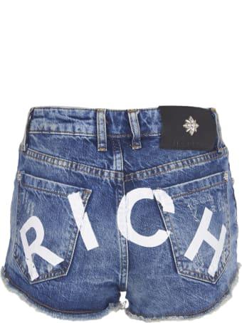 """John Richmond """"rich"""" Denim Short"""