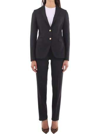 Tagliatore Black Two-piece Suit