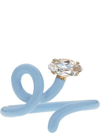 Bea Bongiasca Baby Vine Ring Tendril Rock Crystal