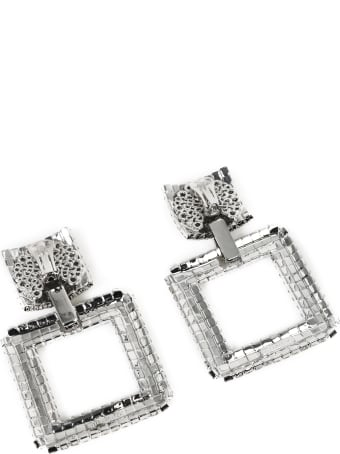 Alessandra Rich Crystals Earrings