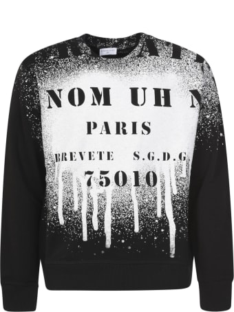 ih nom uh nit Atelier Spray Crewneck Sweatshirt