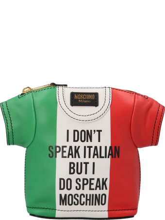 Moschino 't-shirt Bag Italian Slogan' Bag