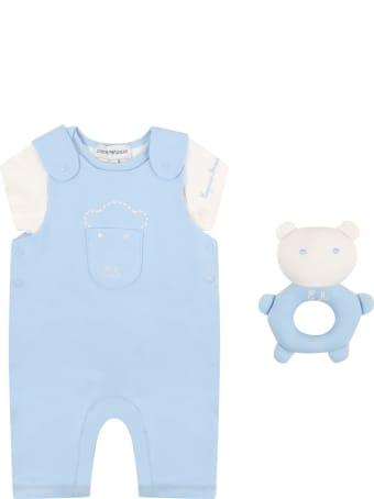 Armani Collezioni Multicolor Set For Babyboy