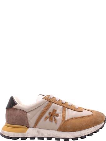 Premiata John Low 5070' Leather Sneakers