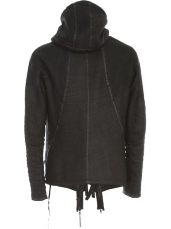 Isaac Sellam Hooded Fur Jacket W/zip