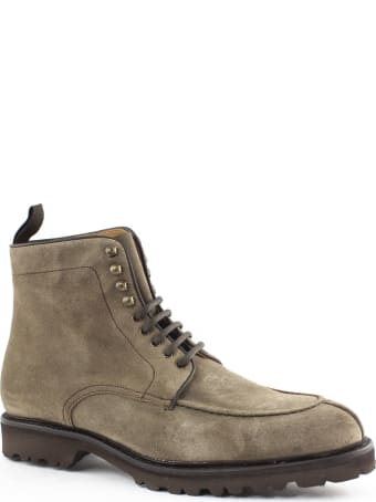 Berwick 1707 Beige Suede Ankle Boot
