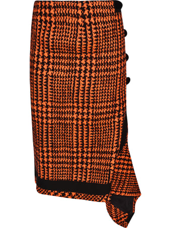 Sacai Houndstooth Skirt
