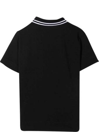 Burberry Black Polo Shirt
