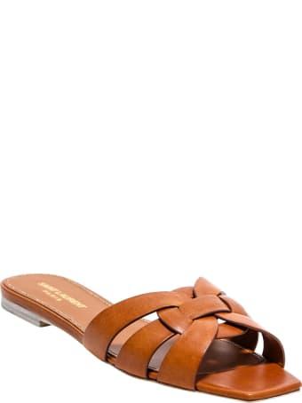 Saint Laurent Flat Sandals