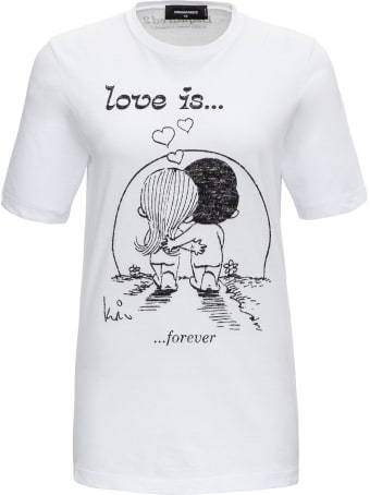 "Dsquared2 ""love Is ..."" T-shirt"