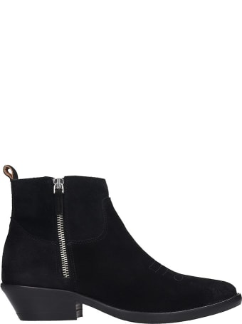 The Seller Ankle Boots In Black Suede
