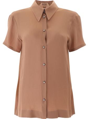N.21 Star Button Shirt