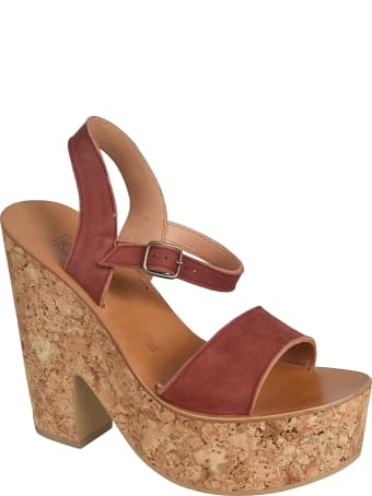 K.Jacques Manuela Wedge Sandals