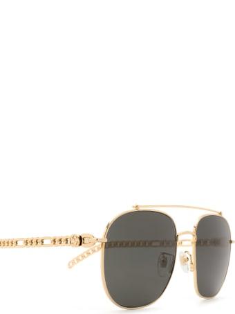 Gucci Gucci Gg0727s Gold Sunglasses