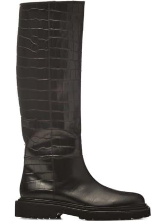 Vic Matié Vic Matié Croc Printed Boots