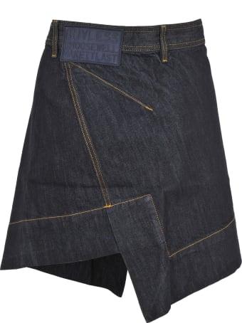 Vivienne Westwood Anglomania Anglomania Vivienne Westwood Anglomania Asymmetric Denim Skirt