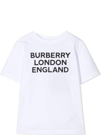 Burberry White Cotton T-shirt