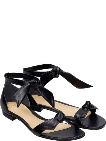 Alexandre Birman Flats In Black Leather