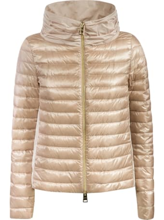 Herno Hooded Cropped Padded Jacket