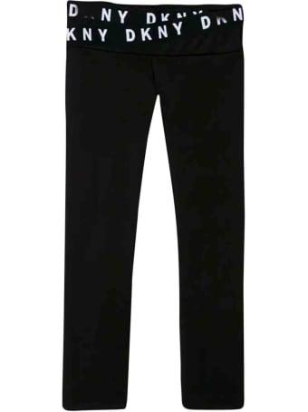 DKNY Black Leggings Teen