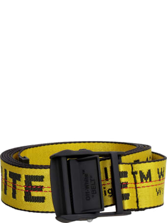 Off-White Industrial Canvas Belt