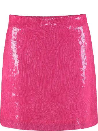 Alberta Ferretti Sequins Mini Skirt