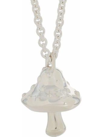 AMBUSH Silver-tone Sterling Necklace