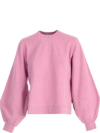 Ganni Sweatshirt W/stripes