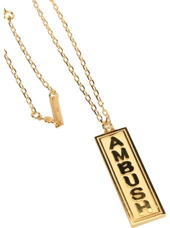 AMBUSH Logo Charm Necklace