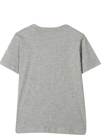 Moncler Grey T-shirt With Print
