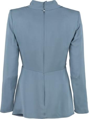 Max Mara Assiro Silk Blouse With Long Sleeves