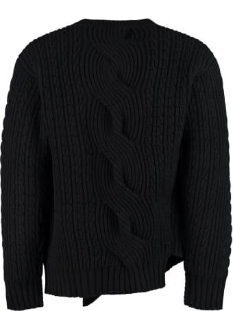 Alexander McQueen Crew-neck Wool Sweater