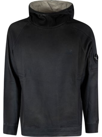 C.P. Company Basic Fleece Hooded Sweatshirt