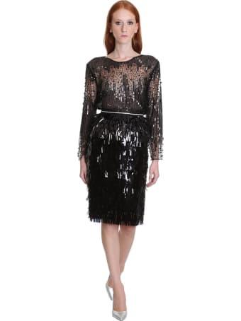 TPN3 Skirt In Black Tech/synthetic