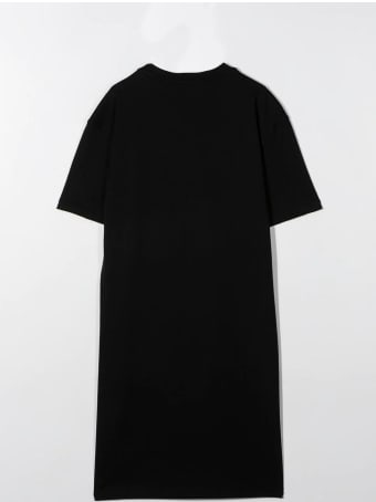 MSGM Logo-print T-shirt Dress
