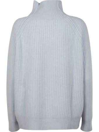 Be Blumarine Crystal Embellish Ribbed Sweater